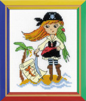 Treasure Island Cross Stitch Kit by Riolis