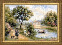 Walk in the park Cross Stitch Kit by Riolis