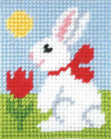 Easter Bunny Needlepoint Kit By Orchidea