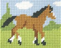 Foal Needlepoint Kit By Orchidea