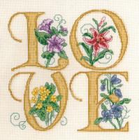 Love Cross stitch Chart by Ursula Michael