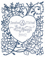 Love Always Cross stitch Chart By Ursula Michael
