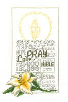 Lets Pray Cross Stitch Chart By Ursula Michael