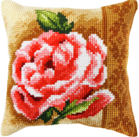 Rose Chunky Cross Stitch Kit by Orchidea