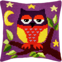Owl Chunky Cross Stitch Kit by Orchidea