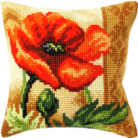 Poppy Chunky Cross Stitch Kit By Orchidea