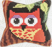 Owl small Chunky Cross Stitch Kit by Orchidea