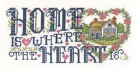 Heart of Home Cross Stitch Chart By Joan Elliott