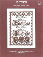 Sisters Cross Stitch chart by Joan Elliott