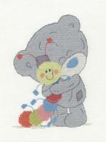 Tiny Tatty my friend my Caterpillar Cross Stitch Kit by DMC