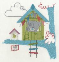 Tiny Tatty Home sweet home Cross Stitch Kit by DMC