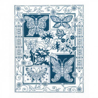 Butterfly Bliss Cross Stitch Chart By Diane Arthurs