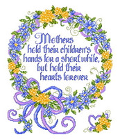 A Mother's Hand Cross Stitch Chart By Ursula Michael