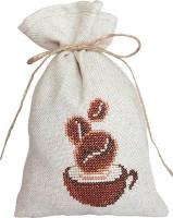 Coffee Bag Cross Stitch Kit by Luca-S