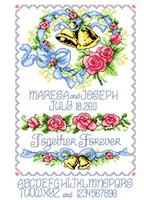 Wedding Bells Heart Chart By Ursula Michael