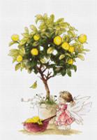 Lemons Cross Stitch Kit by Luca-S