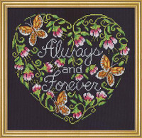 Always and Forever Cross Stitch Kit by Design Works