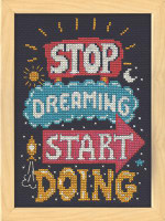 Start Doing Cross Stitch Kit by Design Works
