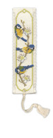 Bluetits Bookmark Cross Stitch Kit by Textile Heritage