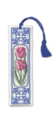 Delft Tulips Bookmark Cross Stitch Kit by Textile Heritage