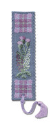 Flowers of Scotland Bookmark Cross Stitch Kit by Textile Heritage