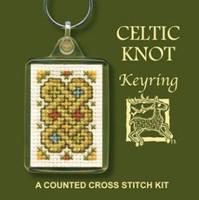 Celtic Knot Keyring Cross Stitch Kit by Textile Heritage