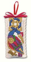 Celtic Birds Sachet Cross Stitch Kit by Textile Heritage