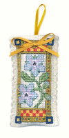 Medieval Garden Sachet Cross Stitch Kit by Textile Heritage