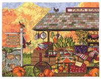 Farm Stand Cross Stitch Kit by Janlynn