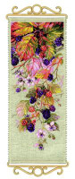 Blackberry Cross Stitch Kit by Riolis