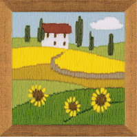 Sunflowers Long Stitch Kit by Riolis