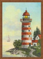 Lighthouse Cross Stitch Kit by Riolis
