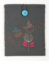Stylised Birds Embroidery Tablet Cover Kit By Vervaco