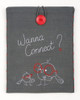 Wanna Connect? Embroidery Tablet Cover Kit By Vervaco