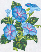 Periwinkles Canvas only By Grafitec