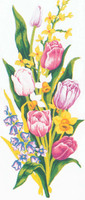 Tulips Canvas only By Grafitec