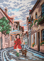 Singing in the Rain Canvas only By Grafitec