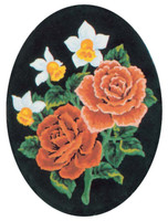 Daffodils and Roses Canvas only By Grafitec