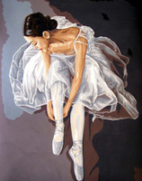 Prima Ballerina Canvas only By Grafitec