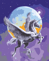 Moonlight Pegasus Canvas only By Grafitec