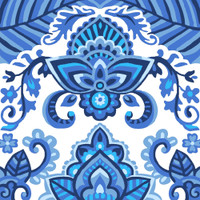 China Blue Canvas only By Grafitec