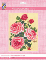 Roses & Rosebuds  Tapestry Kit By Grafitec