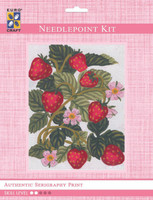 Strawberries  Tapestry Kit By Grafitec