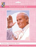 Pope John Paul  Tapestry Kit By Grafitec