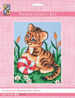 Baby Tiger  Tapestry Kit By Grafitec