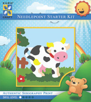 Molly Moo Cow  Tapestry Kit By Grafitec