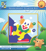 Juggling Clown  Tapestry Kit By Grafitec
