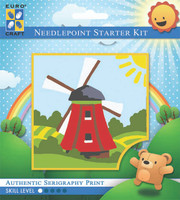 Traditional Windmill  Tapestry Kit By Grafitec