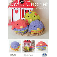 Bird's Nest in DMC Natura Just Cotton Patten Booklet
