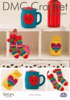Winter Warmers Crochet Pattern Leaflet  By DMC